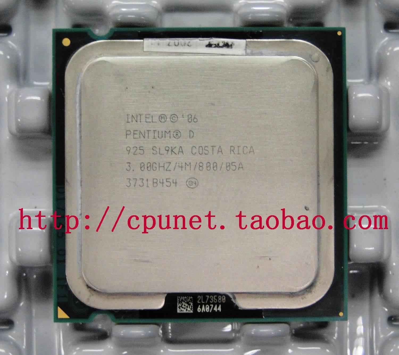 Процессор Intel  CPU Pentium 925 930 3.0G процессор intel g3220 cpu 3 0g 1150 h81 b85