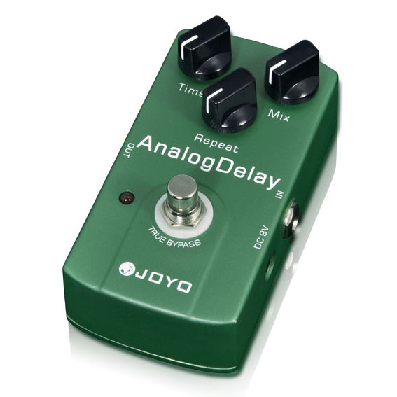 Педаль эффектов JOYO  JF-33 Analog Delay педаль эффектов joyo 9v