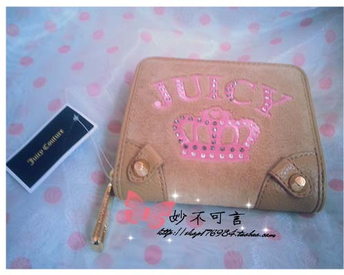 бумажник JUICY Couture самокат y scoo gun 205 8 aqua