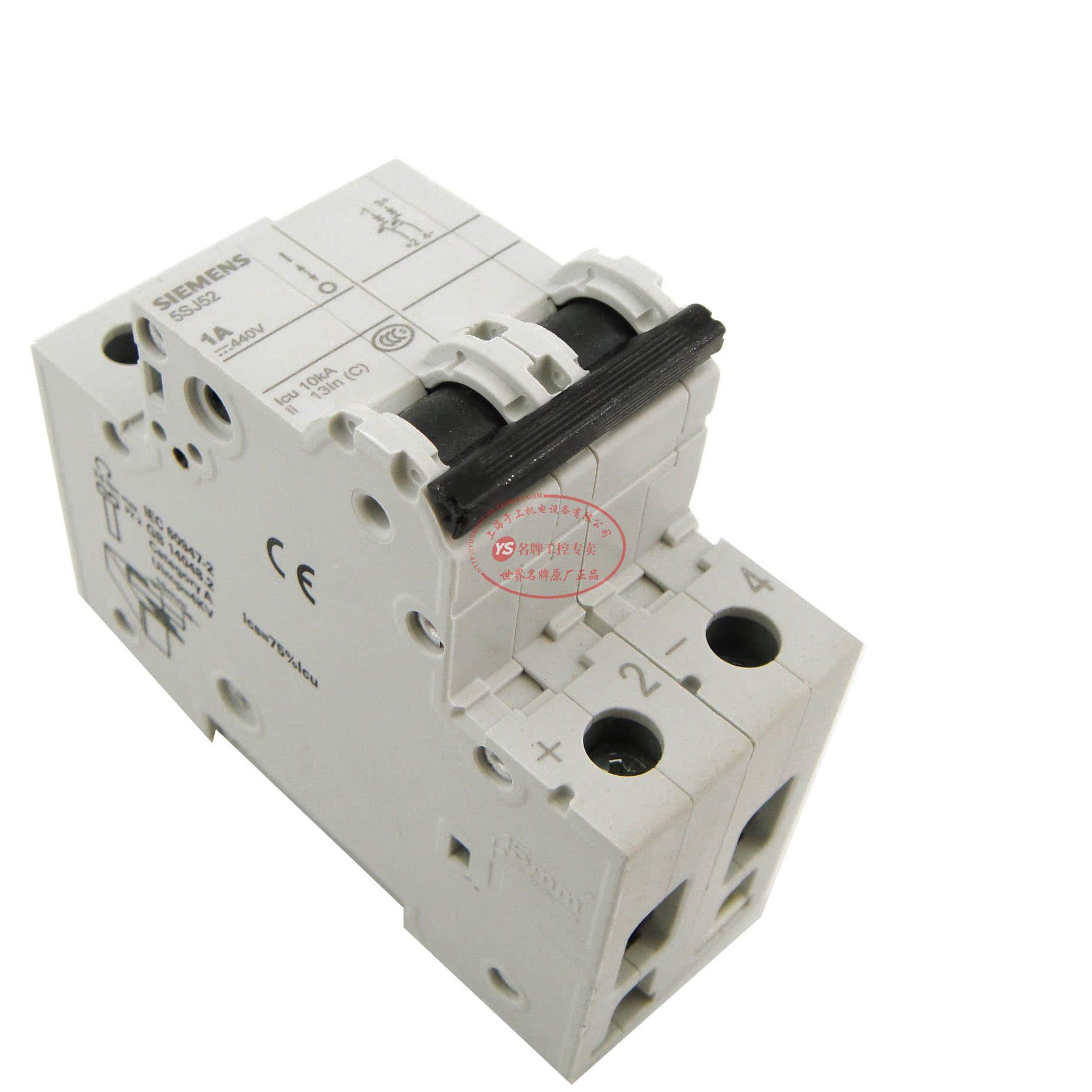 Автоматический выключатель Siemens 5SJ5201-7CC20 1PC1A siemens lc67bf532