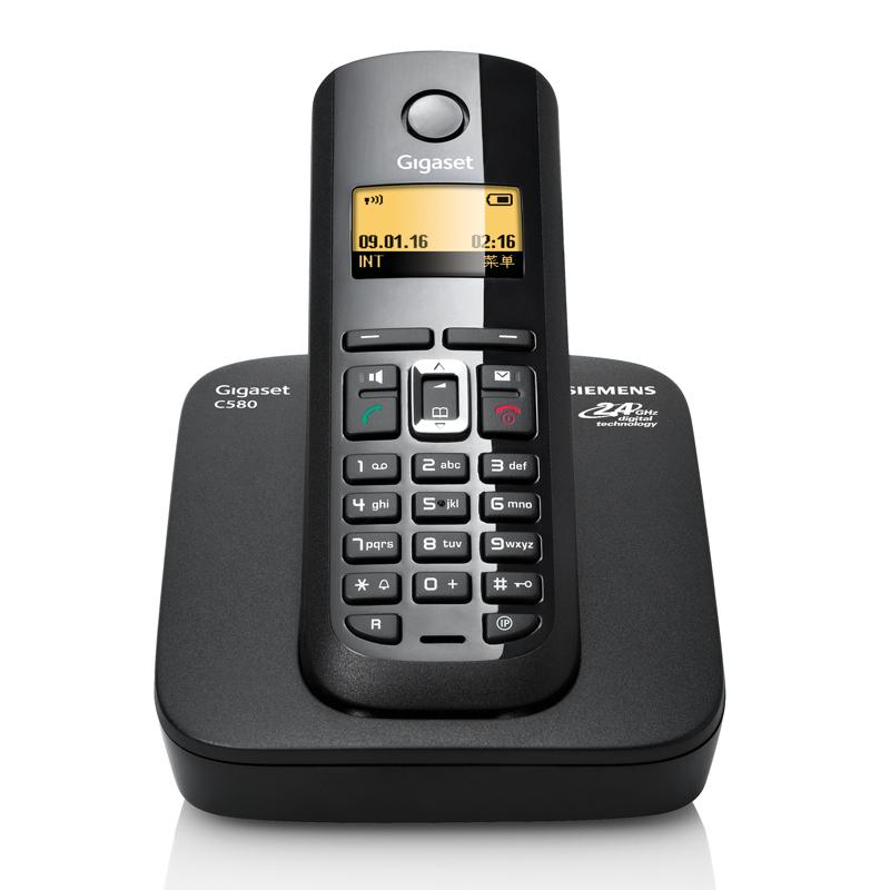 Проводной и DECT-телефон Gigaset C580 sys Siemens C580 проводной и dect телефон gigaset c810a siemens c810aip