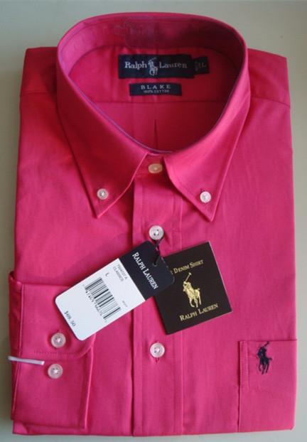 Рубашка мужская Polo Ralph Lauren baoluolafu Lauren Polo Ralph Lauren ralph lauren polo red white