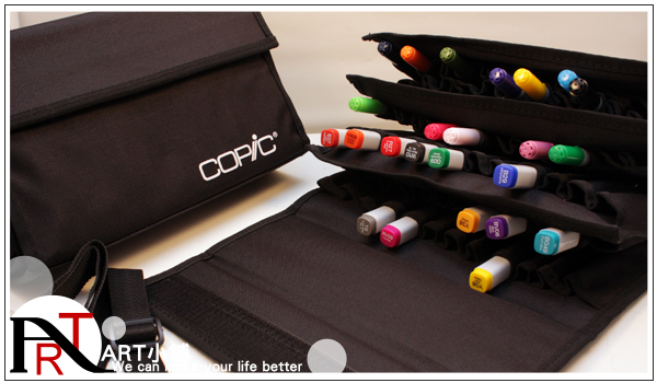 Подставка для кистей Copic ART 72 copic sketch marker empty case holds 72 markers copic