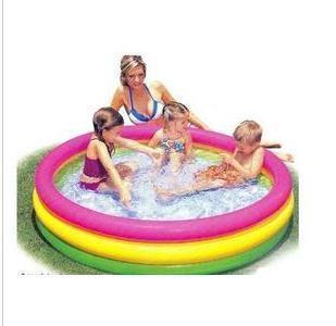 Детский надувной бассейн Intex INTEX57412- надувной бассейн intex 28112