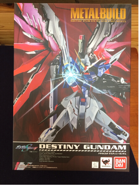 Игрушки из сериалов Gundam Bandai MB METAL BUILD DESTINY bandai фигурка fw gundam converge sp08 destiny