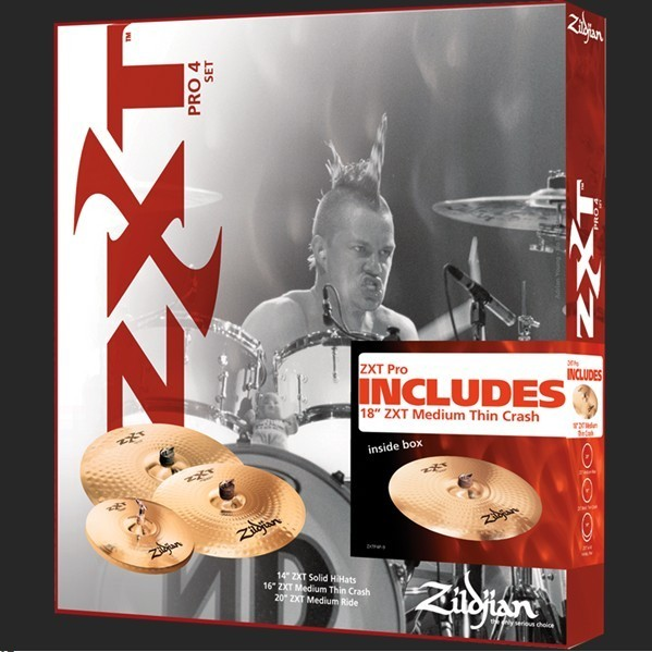Тарелка ZILDJIAN ZXT ROCK/PRO тарелка крэш zultan 18 rock beat crash