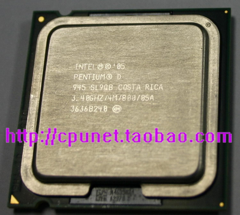 Процессор Intel  CPU Pentium 945 3.4G 775 процессор intel g3220 cpu 3 0g 1150 h81 b85