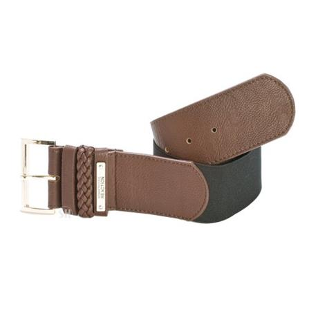 Ремень Kenneth cole Brown Elastic Braid Belt kenneth cole ny take a stand brown