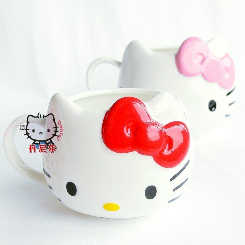 Чашка кофейная Hello kitty 003
