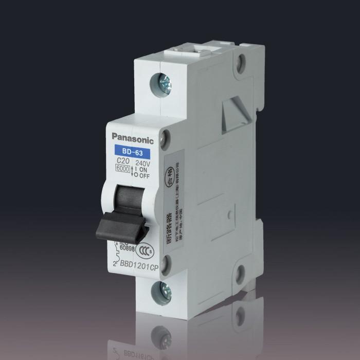 Автоматический выключатель Panasonic BD-63C 1P20A uk plug power energy watt voltage amps meter analyzer with power electricity usage monitor