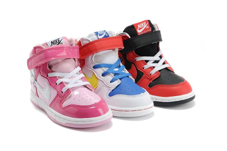 детские кроссовки Nike  DUNK SB Kitty кеды кроссовки высокие nike sb zoom dunk high pro black