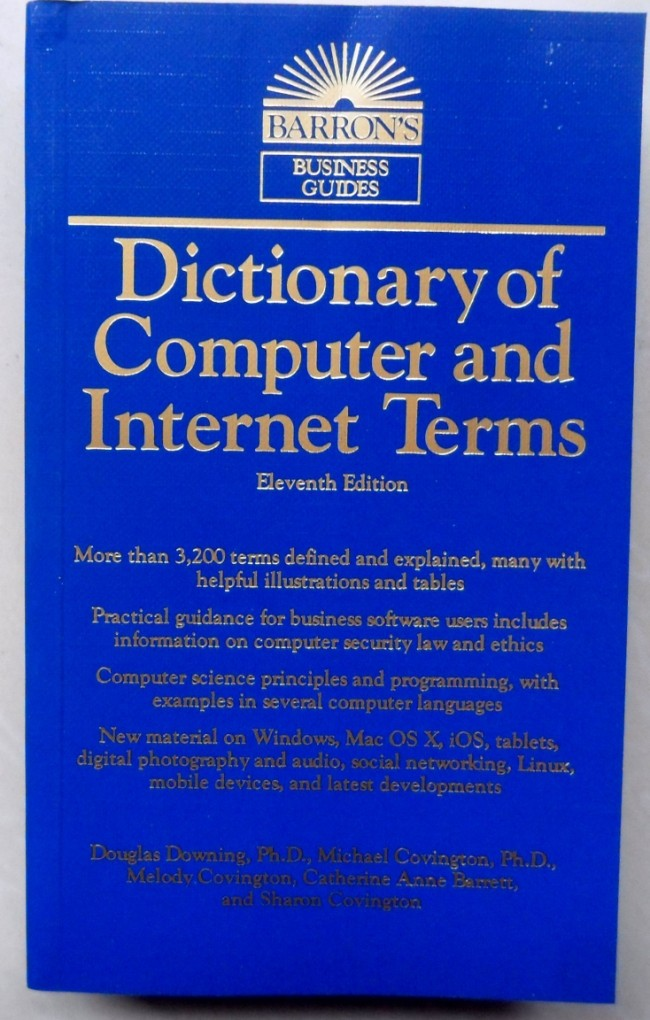 Развивающая игрушка   Dictionary Of Computer And Internet Terms office international des dictionary of animal health terminology
