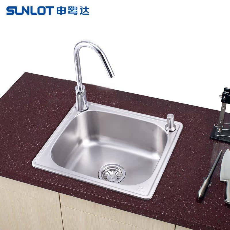 申鹭达卫浴 单槽厨房水槽
