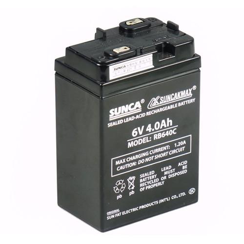 Аккумулятор фиксированный New good  SUNCA RB640C 4AH 6V