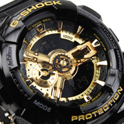 Часы CASIO  G-SHOCK GA-110GB-1A часы casio g shock ga 110gb 1a