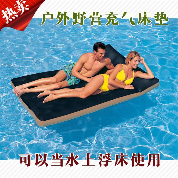 надувная кровать Intex кровать надувная двуспальная intex prime comfort со встроенным насосом 220в 64446