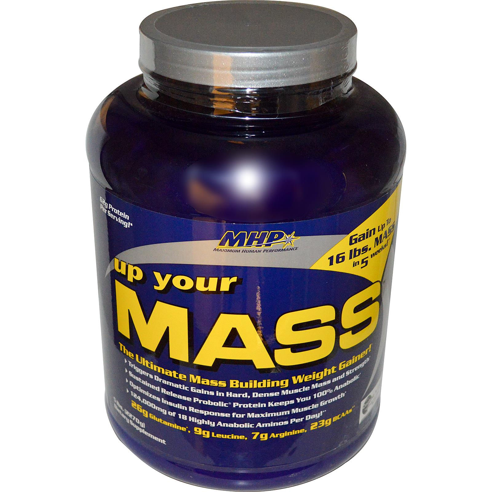 Mhp ,Up Your Mass, Weight Gainer гейнер geneticlab nutrition mass gainer шоколад 1000 г