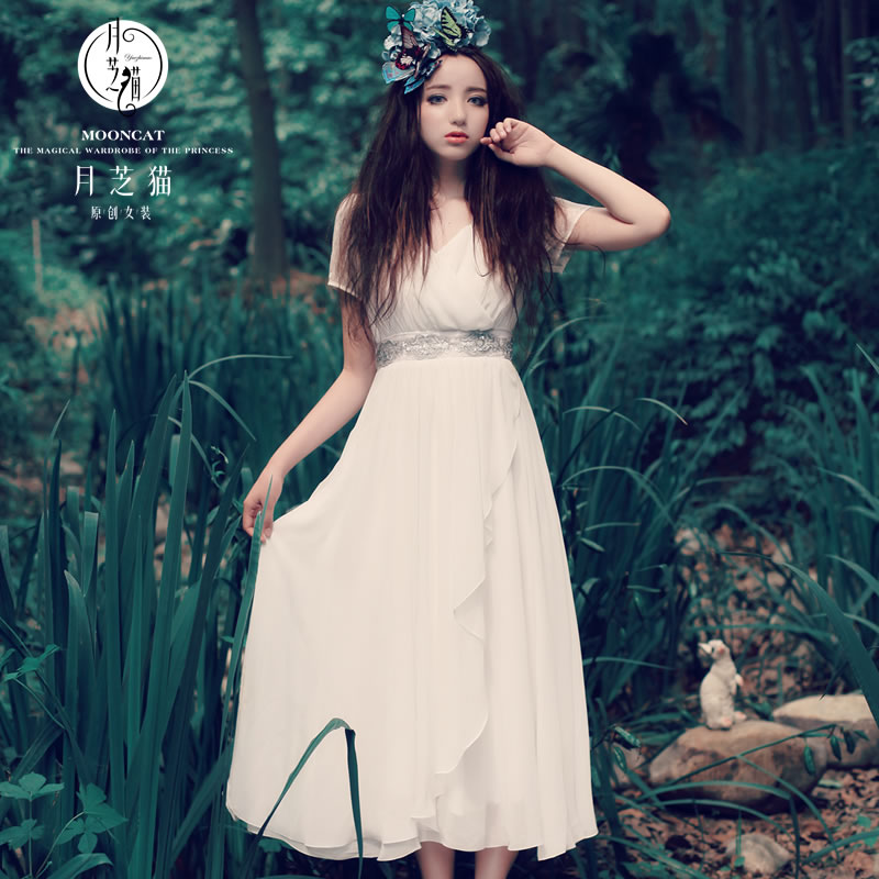 Женское платье Moon Chi cat 141 2015 moon