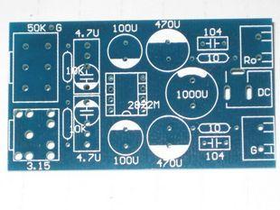 PCB плата TDA2822M PCB pcb плата fr4 a 18um 1 5 20 15