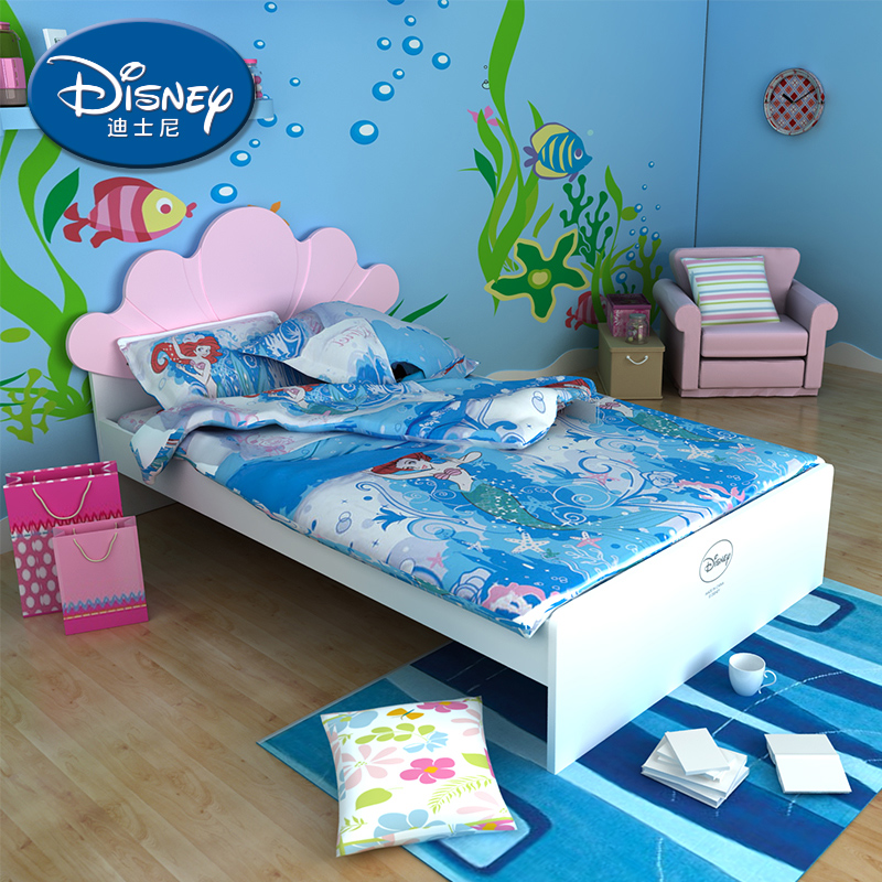 酷漫居迪士尼儿童床人鱼公主