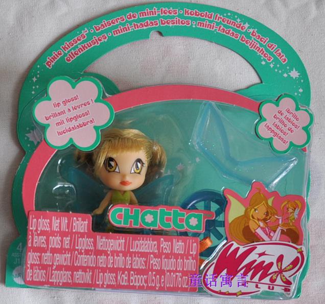 кукла WinX club  MATTEL, CHATTA Chatta кукла winx club mattel amore j1453