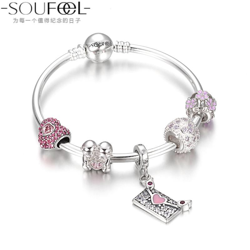 Цепочка на руку Soufeel  925 Pandora