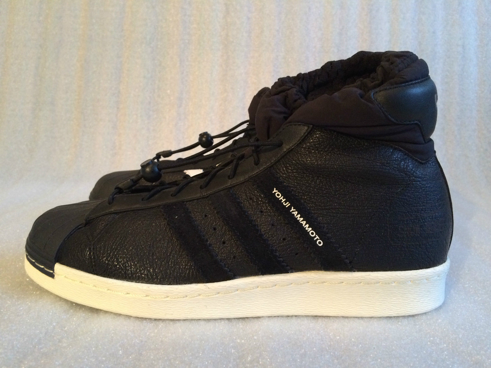Демисезонные ботинки Y/3  Y-3 Model Q35269 Black Superstar y