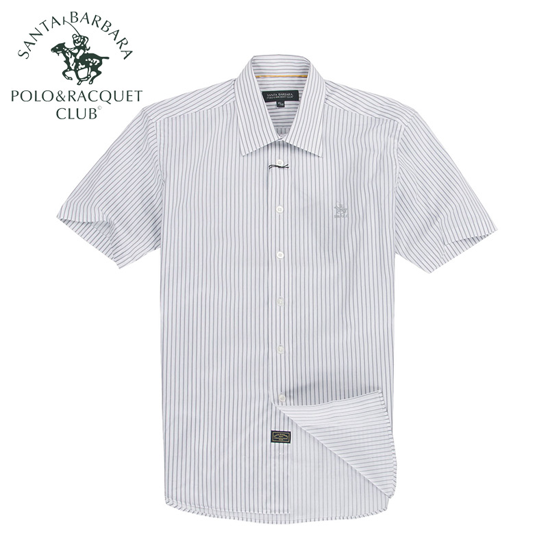 Рубашка мужская Santa Barbara, Polo & Racquet Club ps12wh127 Polo визитница santa barbara polo