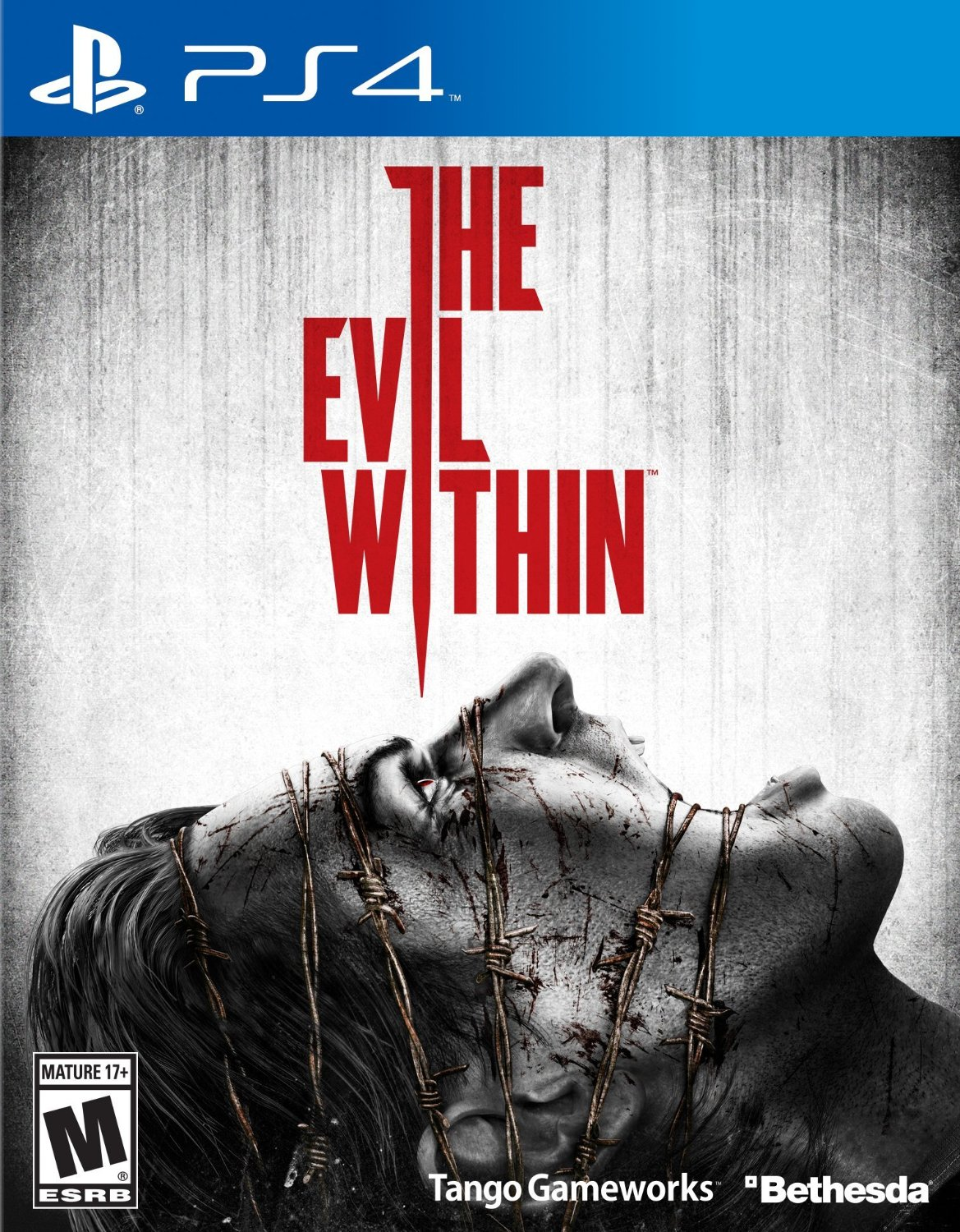 Игра для PS   PS4 The Evil Within CD+40