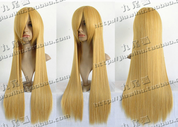 Аксессуары для косплея The nine/tailed Fox wig COS Cosplay 80cm Cos the nine day queen