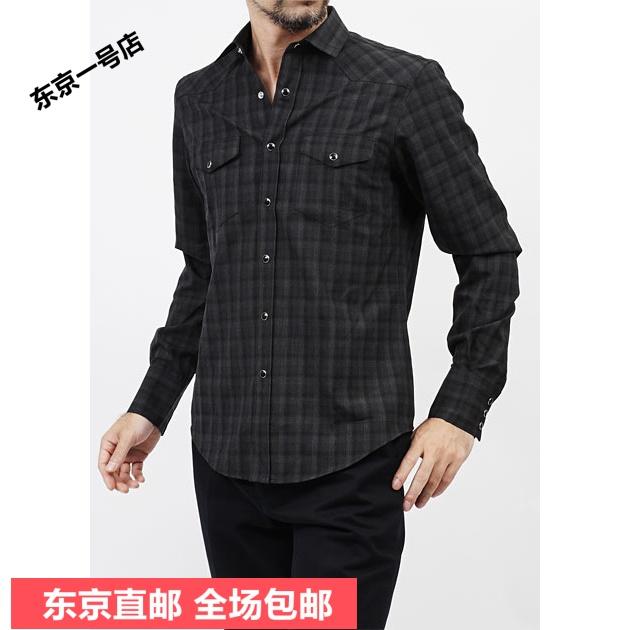 Рубашка мужская Yves Saint Laurent 323926/y685f/1270 SAINT LAURENT/2014 цена 2016