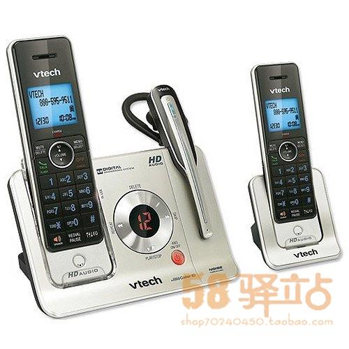 Проводной и DECT-телефон Vtech  LS6475-3 1+1 проводной и dect телефон gigaset e350 1 1 e350