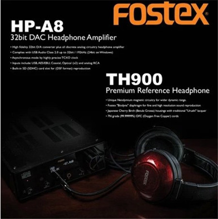 Декодер Fostex  HP-A8 32bit DAC TH900 th 900