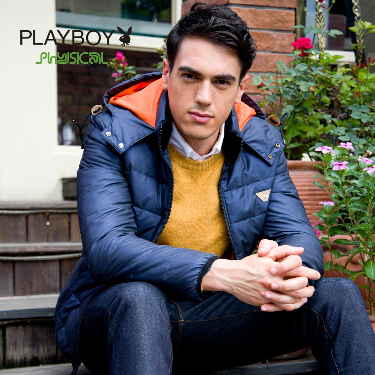 Спортивный пуховик Playboy 2014