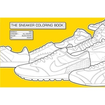 ]The Sneaker Coloring Book/Henrik Klingel coloring of trees