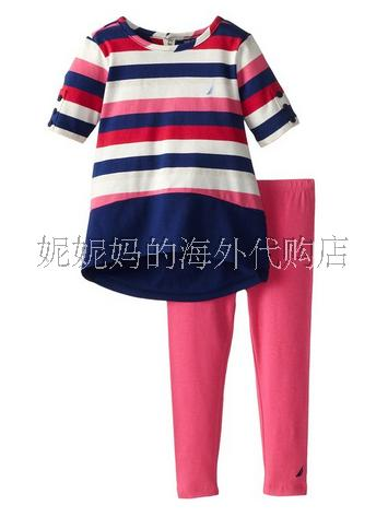 детский костюм Nautica children dresses for girls summer casual stripe baby girl dress 2017 fashion kids clothes 4 6 8 10 12 years girls clothing