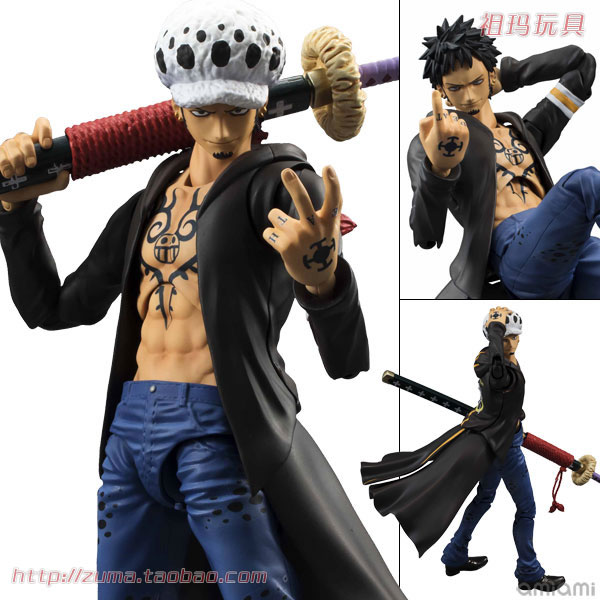 One Piece персонаж MegaHouse 008531 VAH japanese anime one piece original megahouse mh variable action heroes complete action figure dracule mihawk