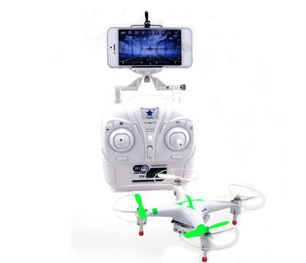 Вертолет на электро-, радиоуправлении ET RC Quadcopter With Camera Drone Iphone Wifi Helicopter Dron original cheerson quadcopter cx 10wd dron remote control with camera helicopter fpv light wifi rc mini toy pocket drone vs x916h