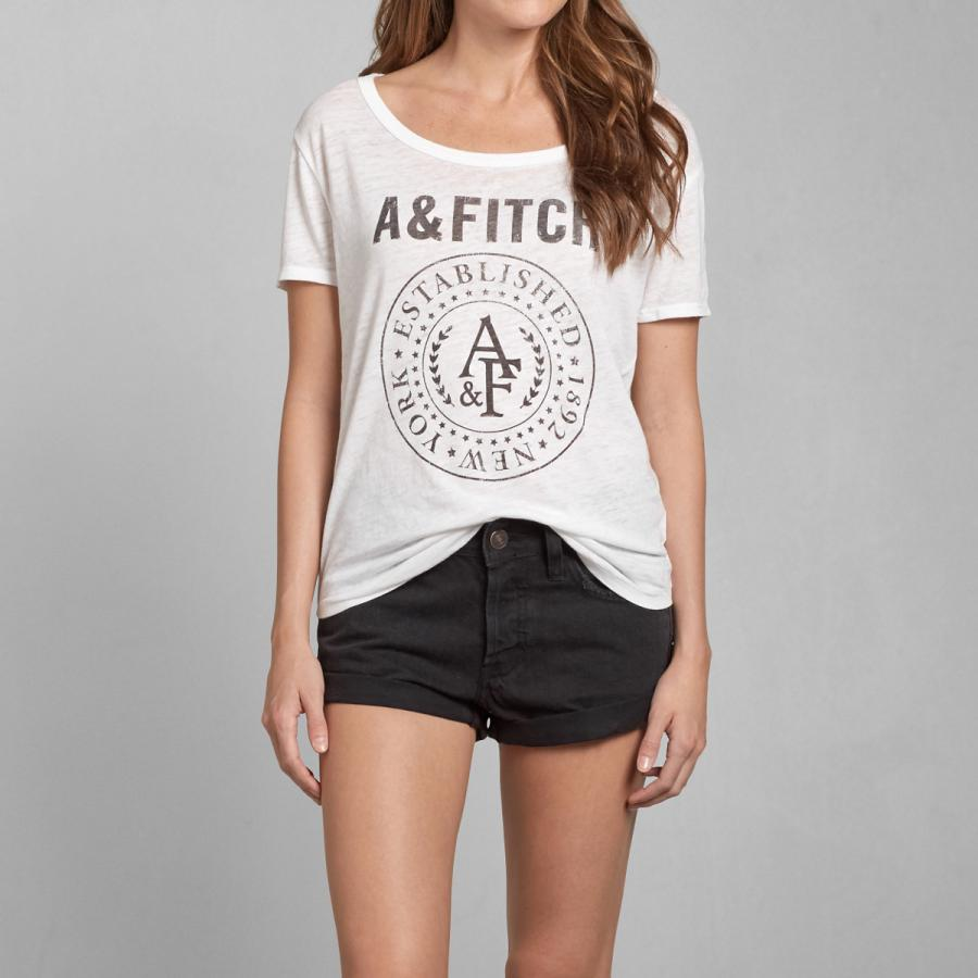 Футболка Abercrombie & fitch 94471 AF Abercrombie Fitch 2015 футболка мужская abercrombie