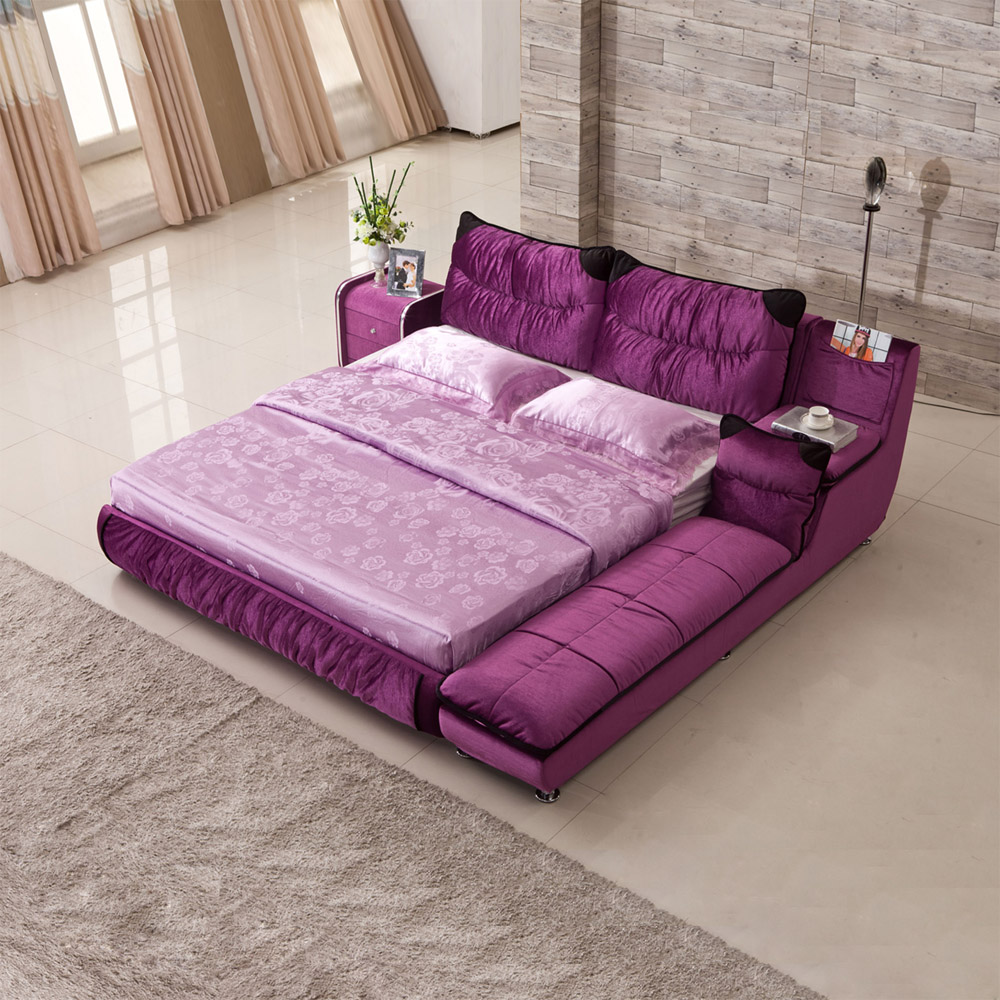 кровать Huang Pu Xuan  1.5 1.8 кровать из массива дерева xuan elegance furniture