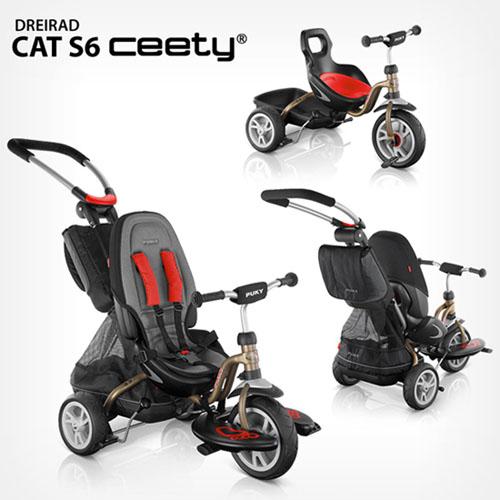 Трехколесный велосипед *Puky Ceety Cat S6