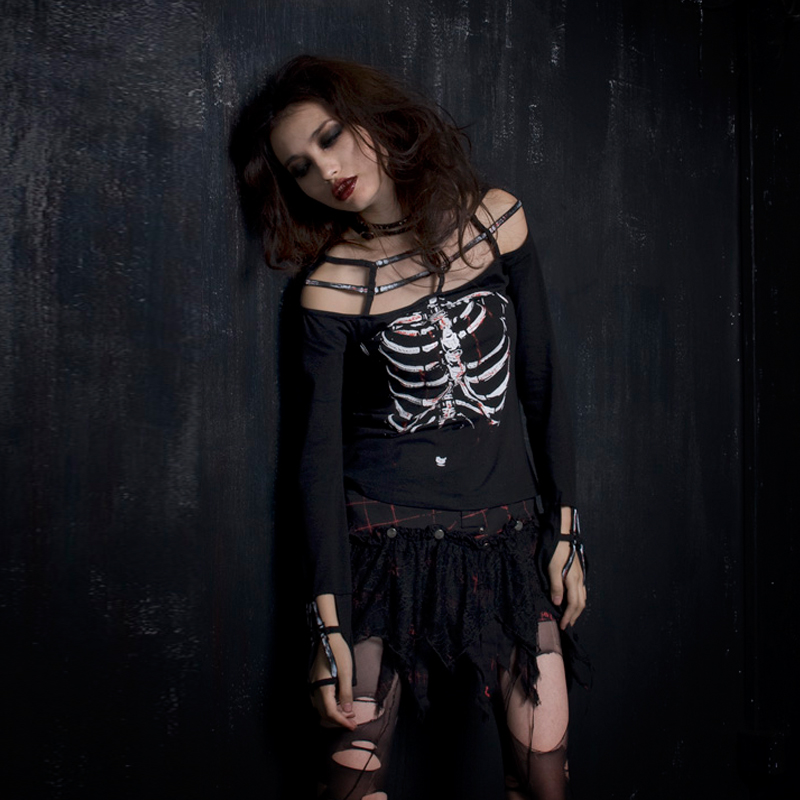 Футболка Punk rave T249 GOTHIC KERA tokyobay t249 gy