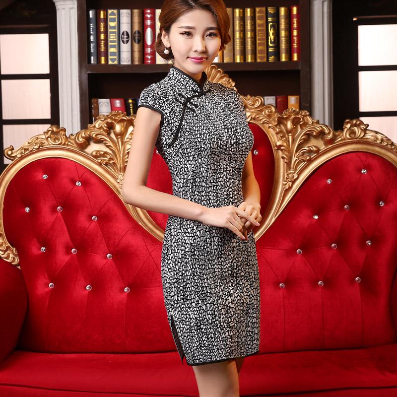 цена Платье Ципао Wedding dresses 20150513 2015 онлайн в 2017 году