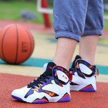 NBA全明星篮球鞋男女战靴学生情侣运动科比詹姆斯10代11代篮球鞋-