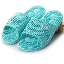 夏天情侣家居凉拖鞋女夏季防滑洗澡居家男塑料浴室内穴位按摩拖鞋