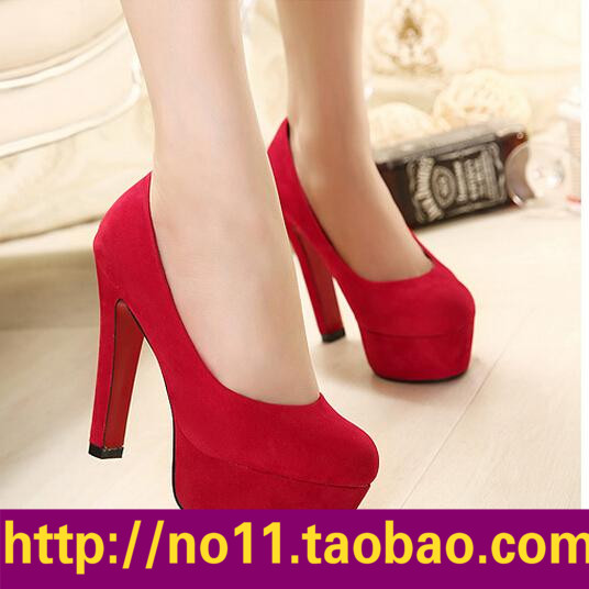 туфли-sexy-red-suede-high-heeled-shoes-wedding-shoes