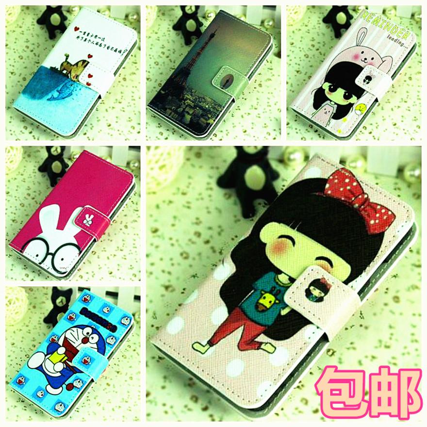 Чехлы, Накладки для телефонов, КПК Cartoon painted leather S5660 Gt-s5660 I569 cartoon