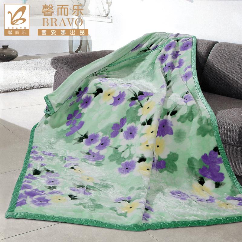 富安娜家纺拉舍尔毛毯92010014101