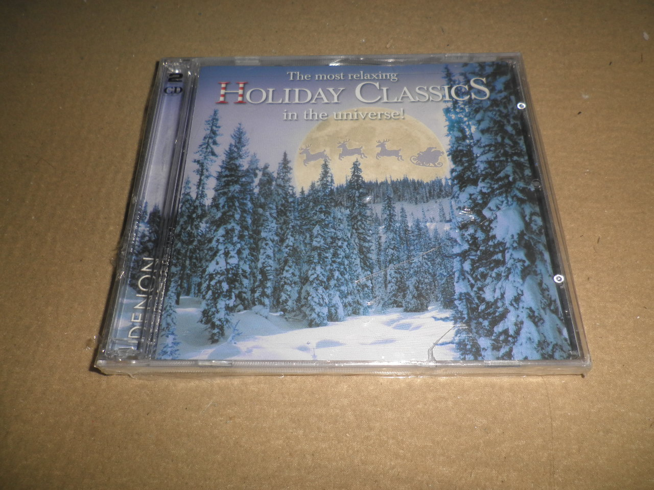 Музыка CD, DVD   The Most Relaxing Holiday Classics In The Universe 2CD музыка cd dvd 2cd 2