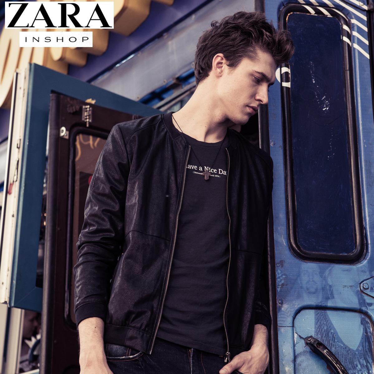 Одежда из кожи ZARA py703 2015